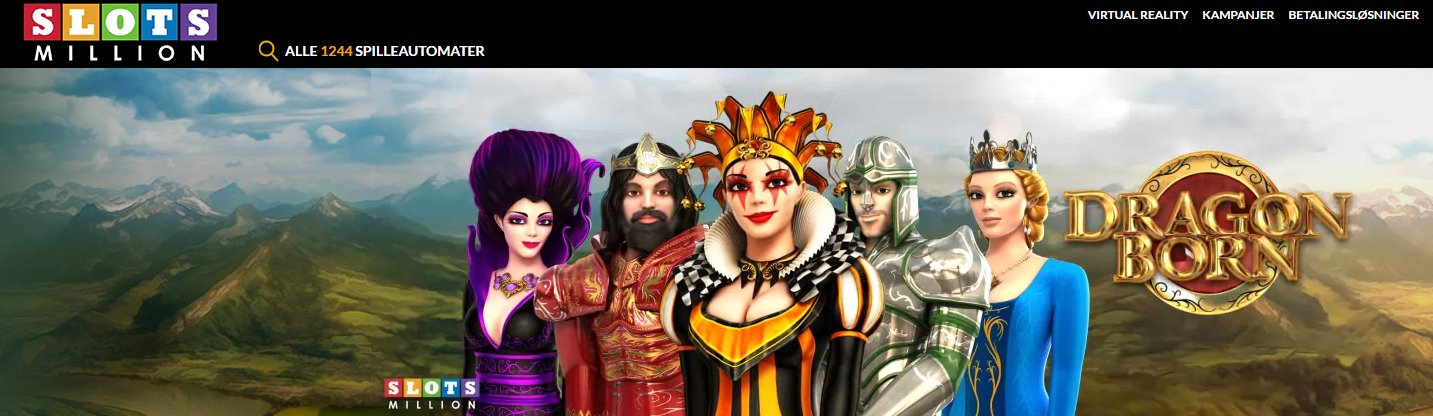 slots millions norsk